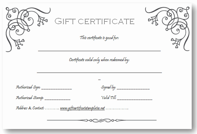Free Gift Card Template Download Best Of Art Business T Certificate Template