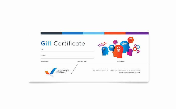 Free Gift Card Template Download Lovely Free Gift Certificate Templates