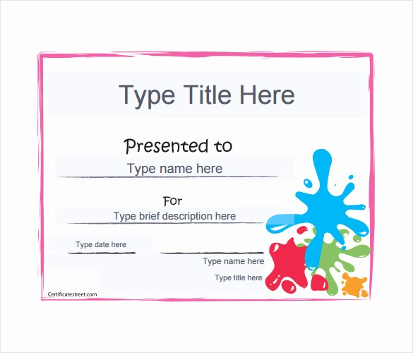 Free Gift Card Template Word Best Of Blank Gift Certificate Template – 13 Free Word Pdf