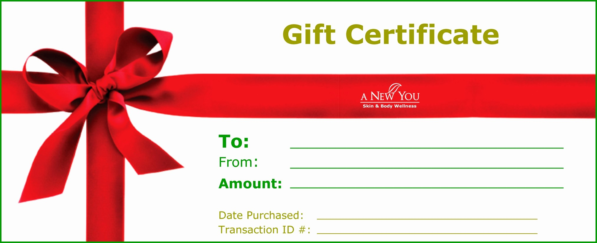 Free Gift Card Template Word Fresh 18 Gift Certificate Templates Excel Pdf formats