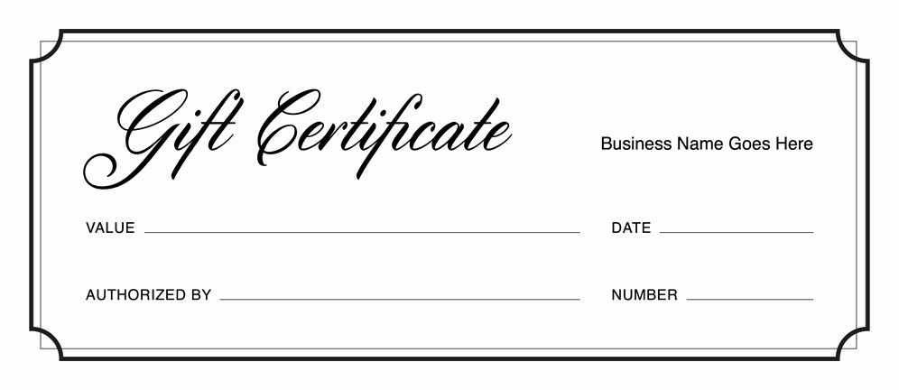 Free Gift Certificate Template Pdf Awesome Gift Certificate Templates Download Free Gift