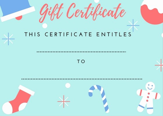 Free Gift Certificates to Print New Printable Gift Certificates — Everything In Place