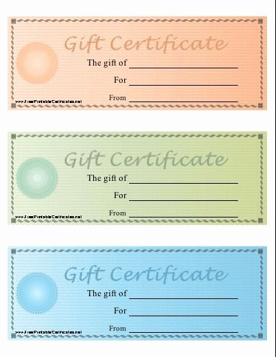 Free Gift Certificates to Print Unique Best 25 Free Printable T Certificates Ideas On