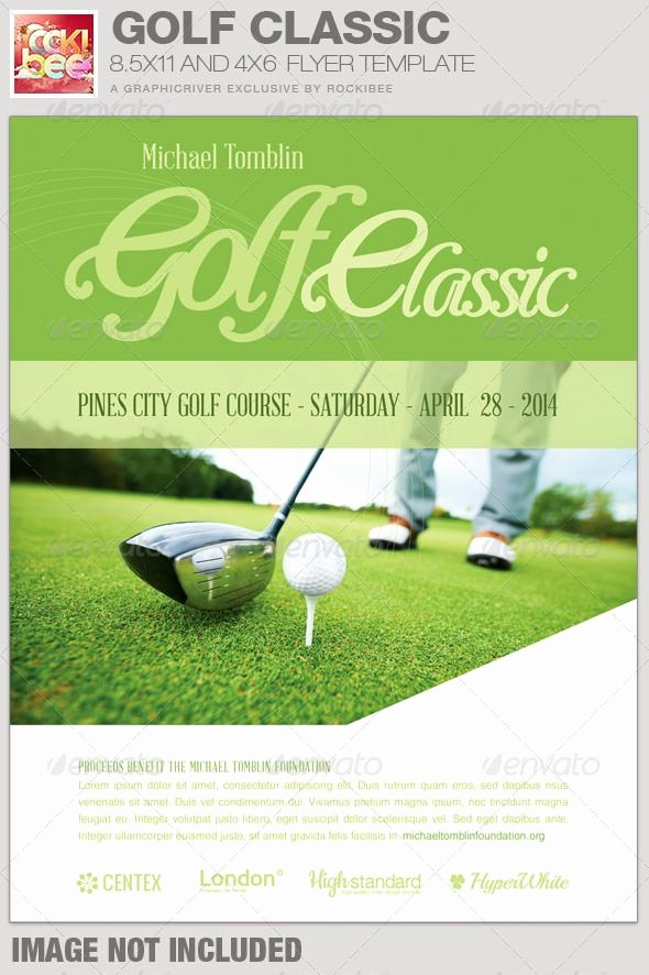 Free Golf Outing Flyer Template Lovely 71 Best Images About Charity Flyer Templates On Pinterest