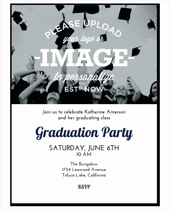 Free Graduation Party Invitation Template Awesome College Graduation Party Invitations Invitation Template