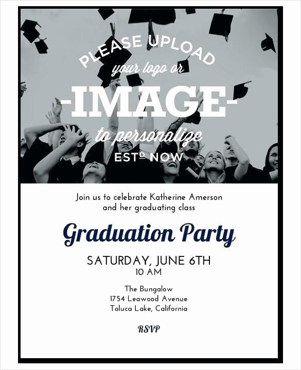 Free Graduation Party Invitation Template Awesome College Graduation Party Invitations Invitation Template