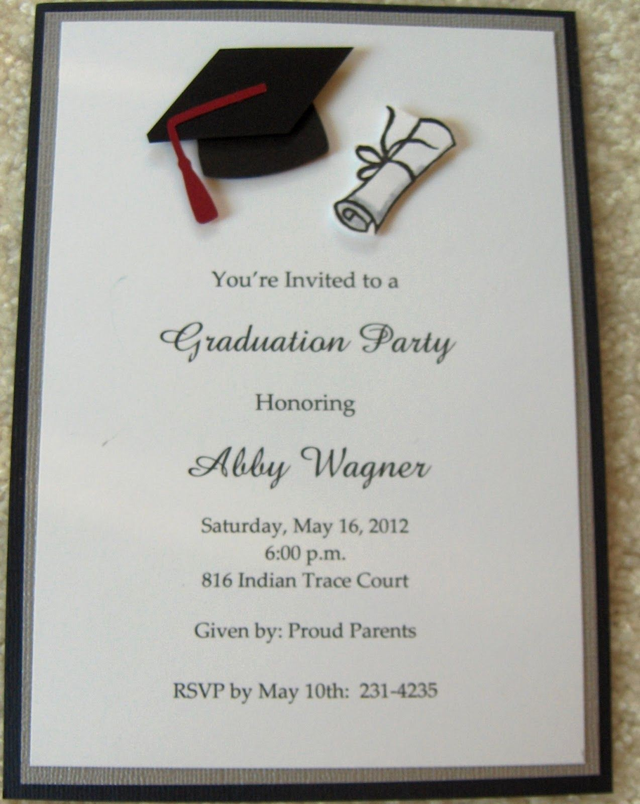Free Graduation Party Invitation Template Elegant Graduation Invitations Google Search