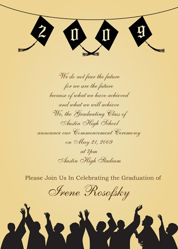Free Graduation Party Invitation Template Fresh Quotes for Graduation Invitations Quotesgram