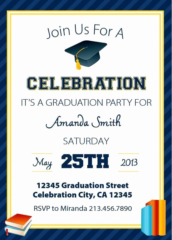 Free Graduation Party Invitation Template Fresh Save Money with these Free Printable Graduation