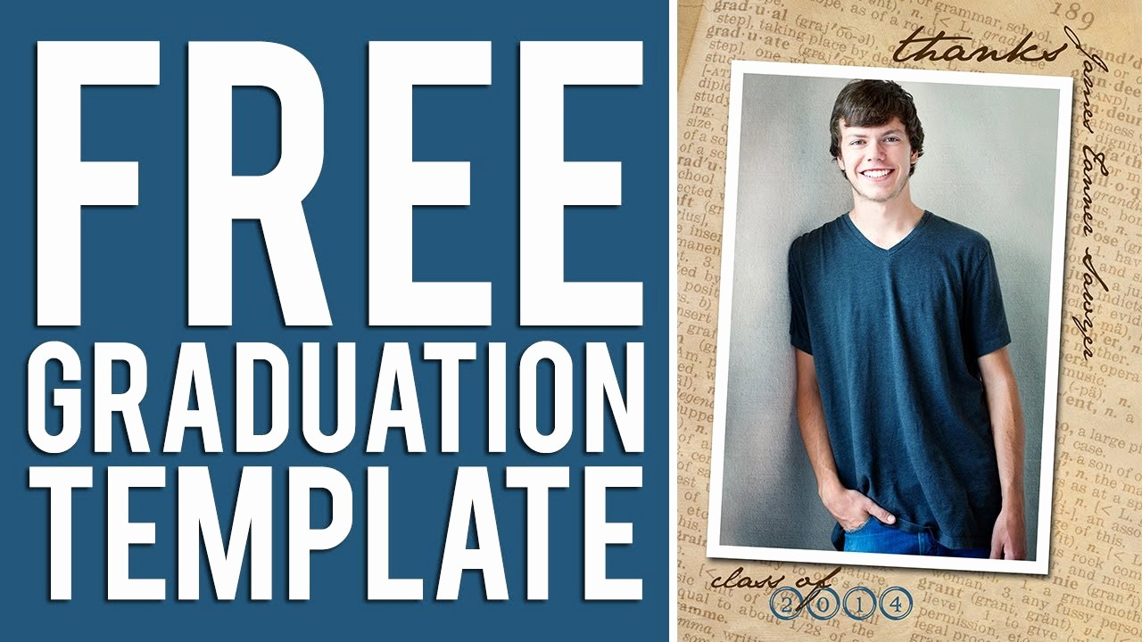 Free Graduation Party Invitation Template Unique Free Graduation Templates Tutorial Shop & Elements