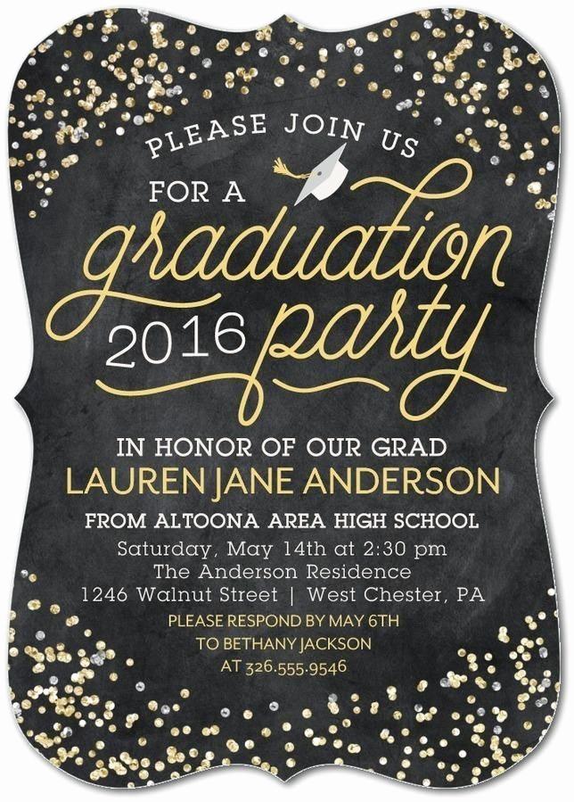Free Graduation Party Invitation Templates Inspirational 25 Best Ideas About Graduation Invitations On Pinterest