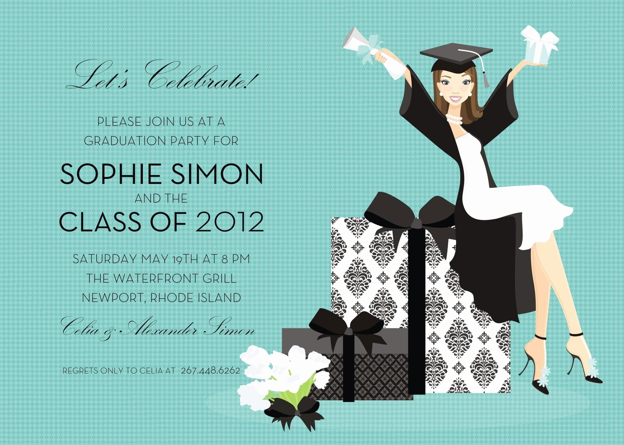 Free Graduation Party Invitations Templates Awesome Free Graduation Invitation Templates Free Graduation