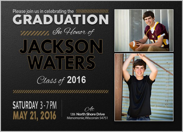 Free Graduation Party Invitations Templates Elegant 19 Graduation Invitation Templates Invitation Templates