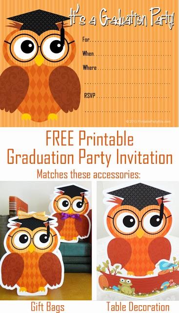 Free Graduation Party Invitations Templates Elegant Party Planning Center Free Printable Graduation Party