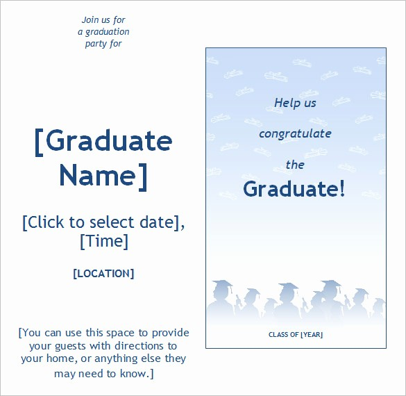 Free Graduation Party Invitations Templates Luxury 50 Microsoft Invitation Templates Free Samples