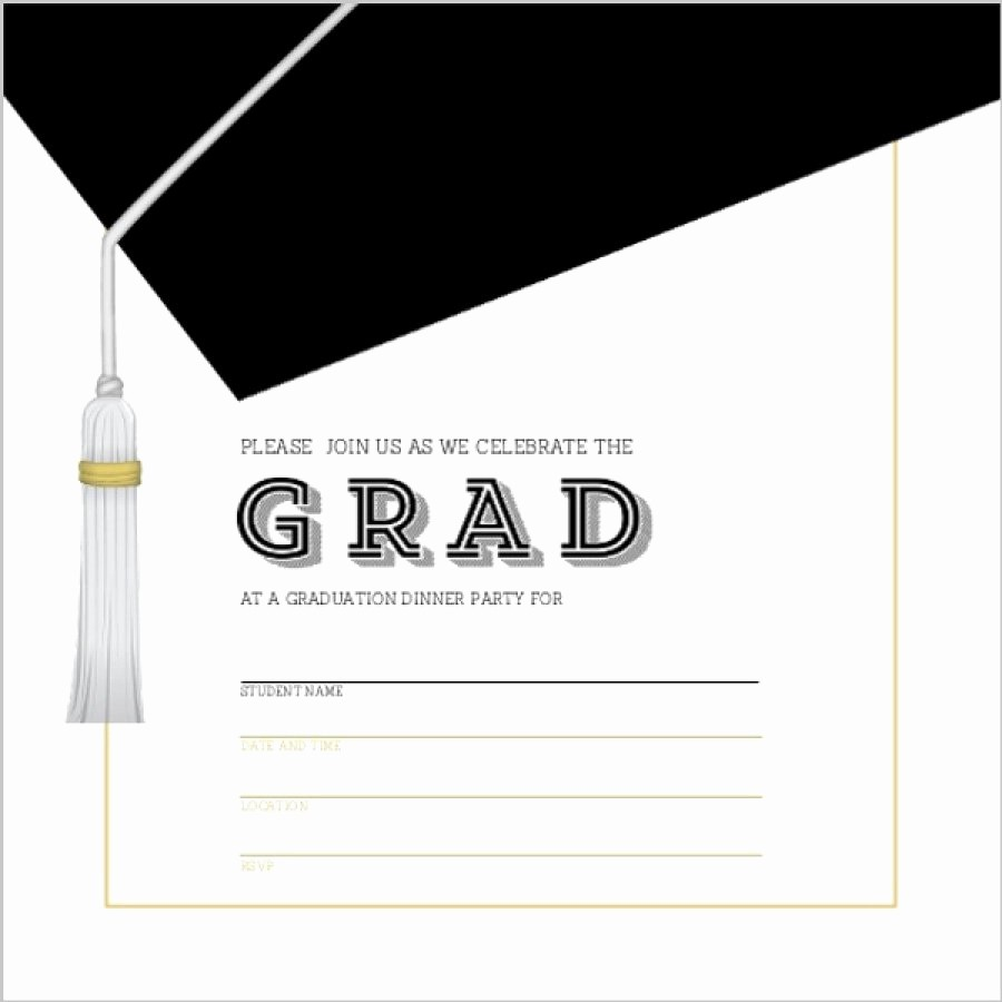 Free Graduation Party Invitations Templates Unique 40 Free Graduation Invitation Templates Template Lab