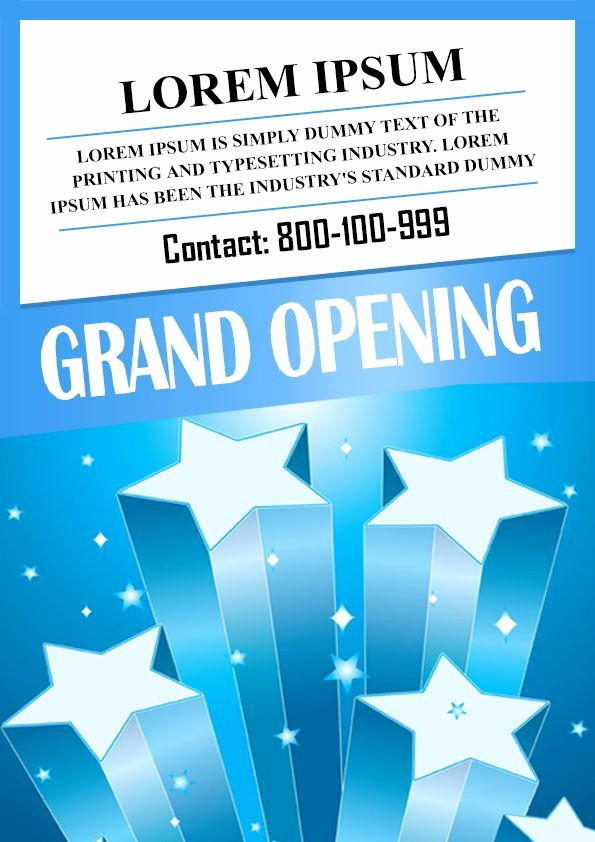 Free Grand Opening Flyer Template Awesome 20 Grand Opening Flyer Templates Free Demplates