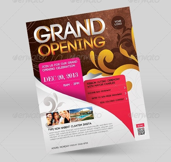 Free Grand Opening Flyer Template Beautiful Grand Opening Flyer Template