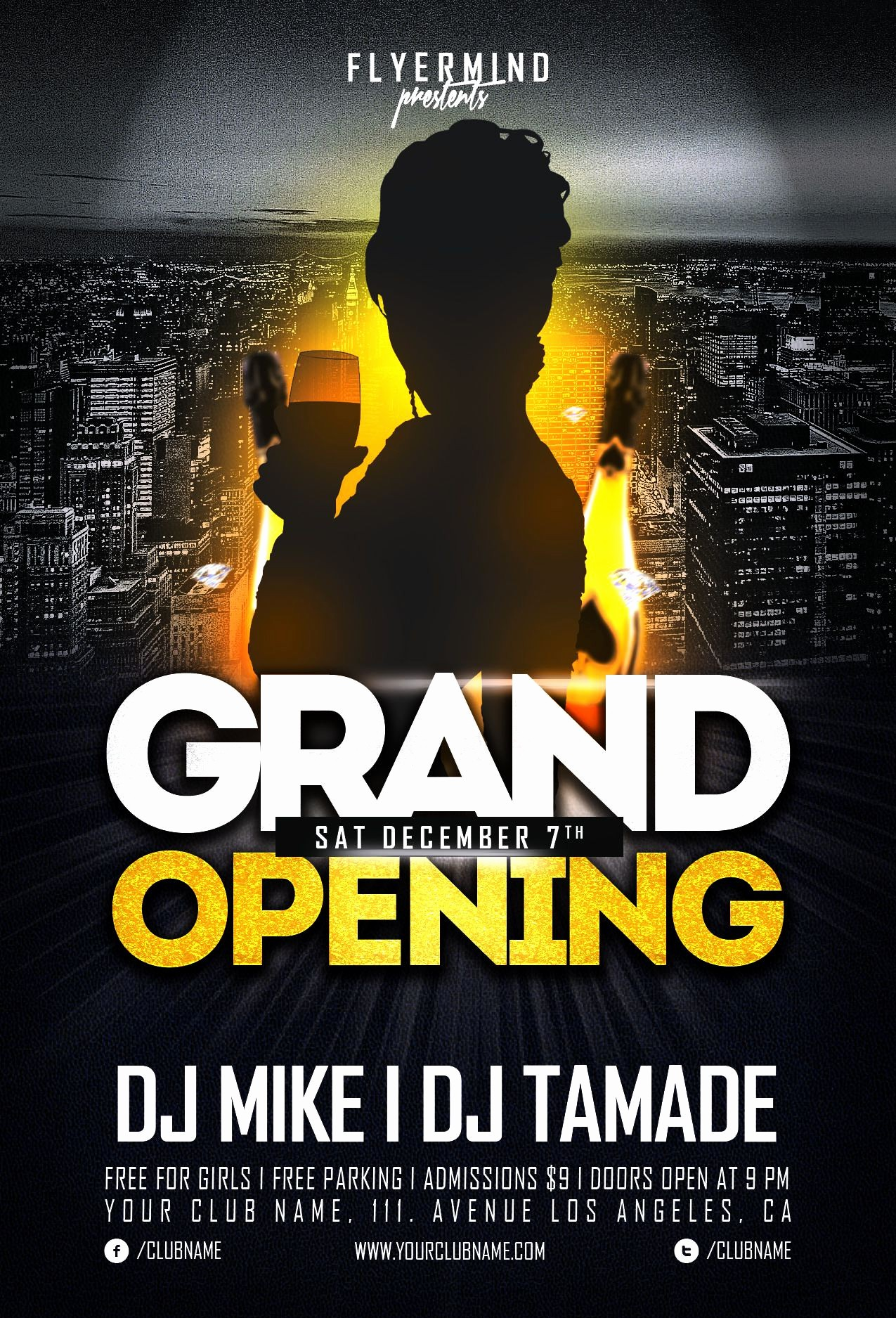 Free Grand Opening Flyer Template Best Of 20 Grand Opening Flyer Templates Free Demplates