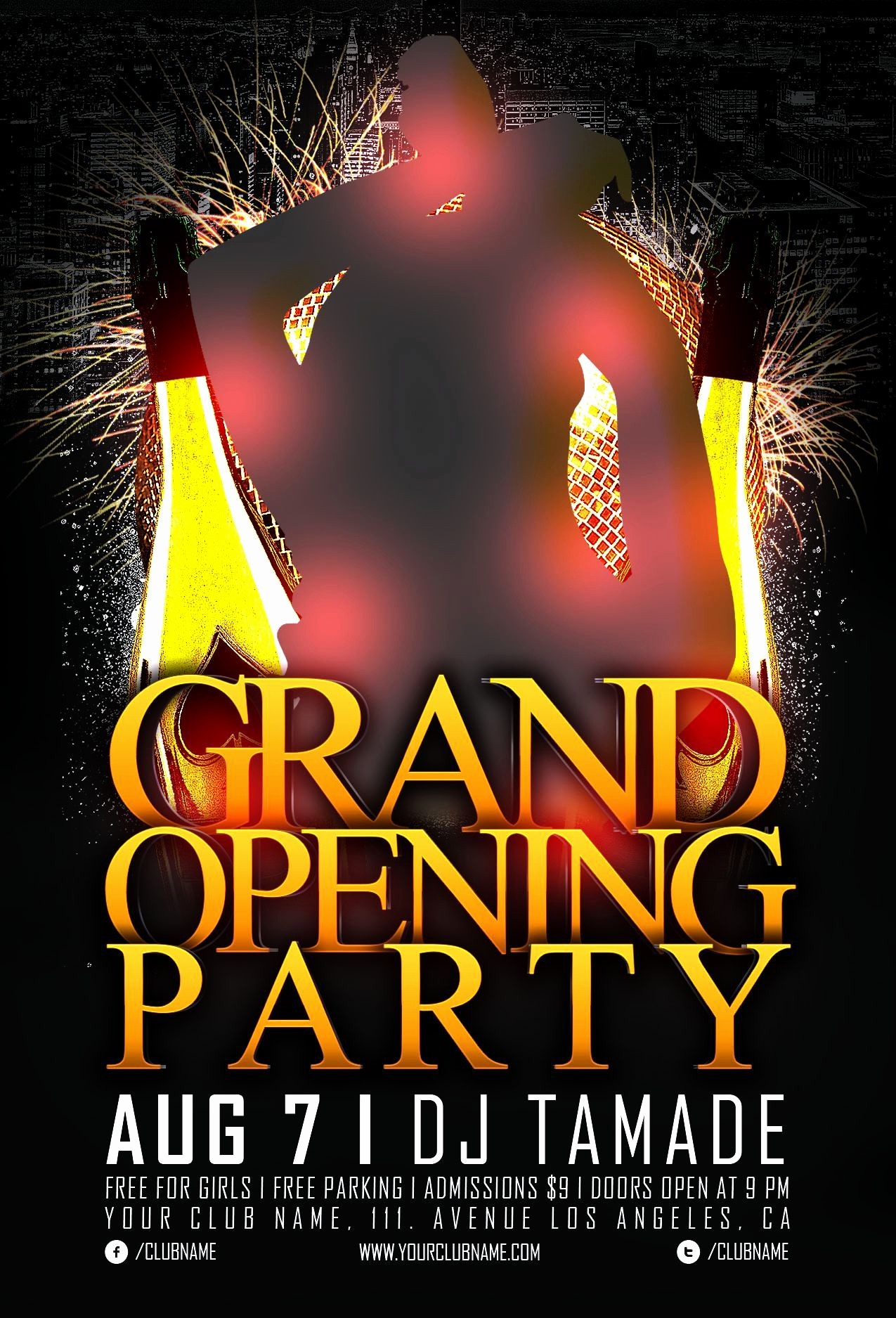 Free Grand Opening Flyer Template Elegant 20 Grand Opening Flyer Templates Free Demplates