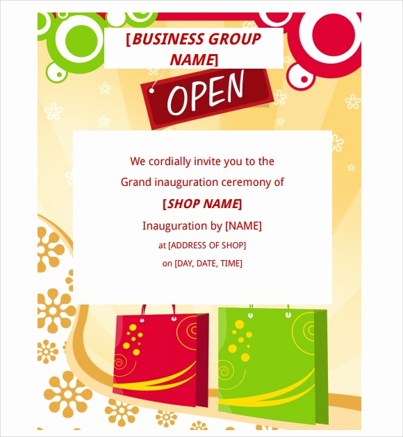 Free Grand Opening Flyer Template Inspirational 13 Microsoft Flyer Templates to Download for Free