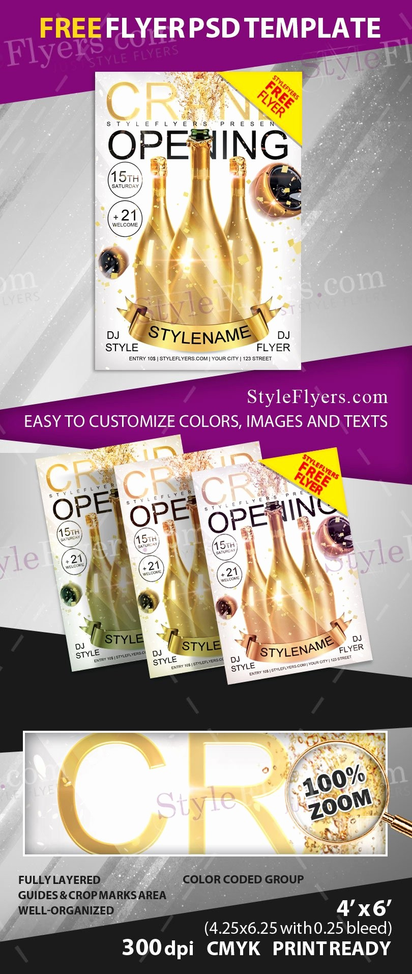 Free Grand Opening Flyer Template Lovely Grand Opening Free Psd Flyer Template Free Download
