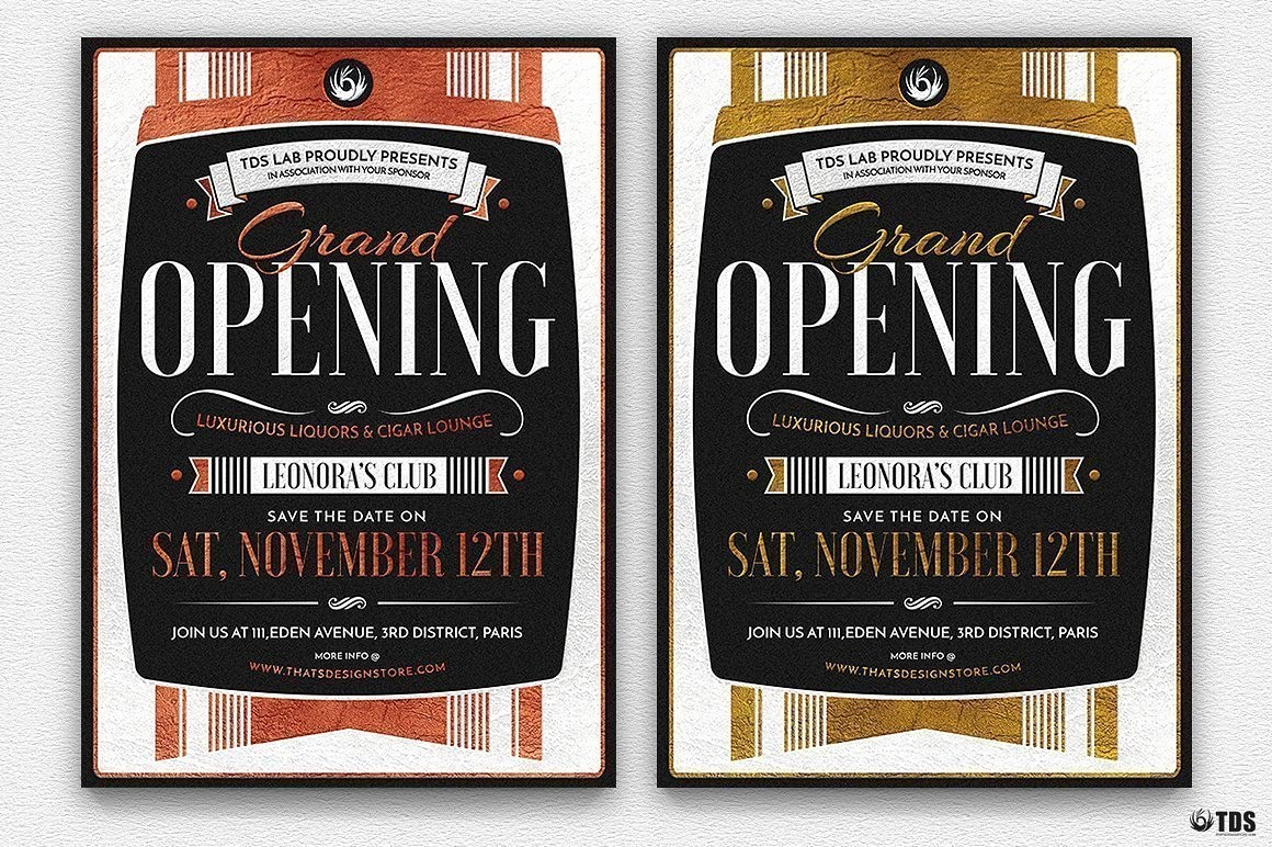 Free Grand Opening Flyer Template Luxury Grand Opening Flyer Template