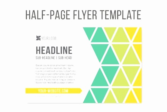 Free Half Page Flyer Template Fresh 9 Quarter Sheet Flyer Template Word Ityot
