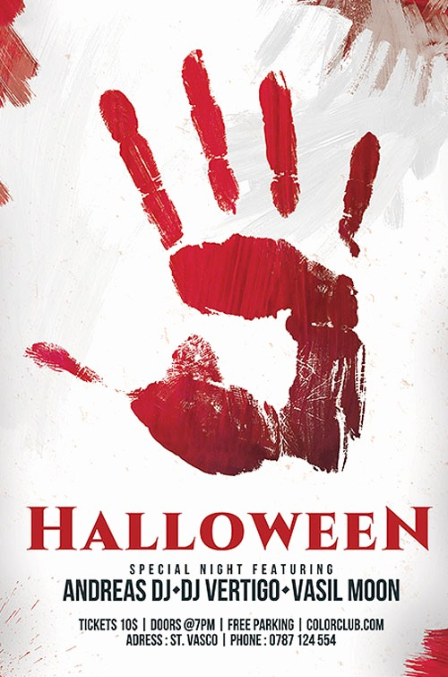 Free Halloween Party Flyer Templates Awesome Download the Free Halloween Flyer Template for Shop