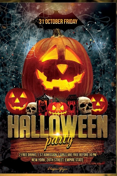 Free Halloween Party Flyer Templates Beautiful 20 Free Carnival Flyer Templates Demplates