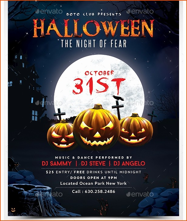 Free Halloween Party Flyer Templates Best Of Halloween Flyer Templates Free for Word