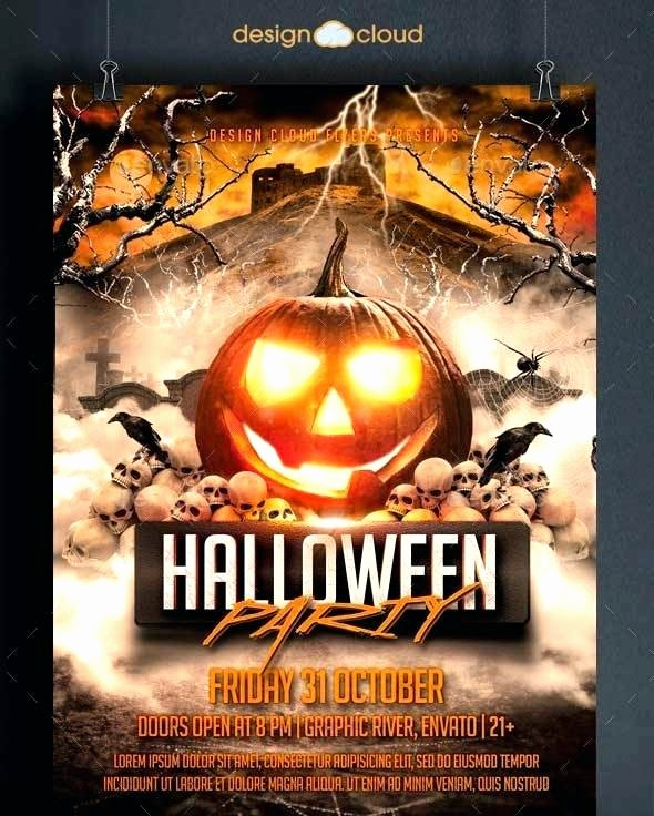 Free Halloween Party Flyer Templates Best Of Party Flyer Template 3 Free Halloween Posters Templates