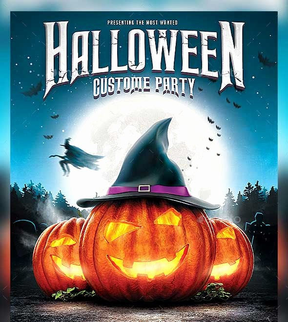 Free Halloween Party Flyer Templates Fresh 45 Best Halloween Psd Party Flyer Templates 2016