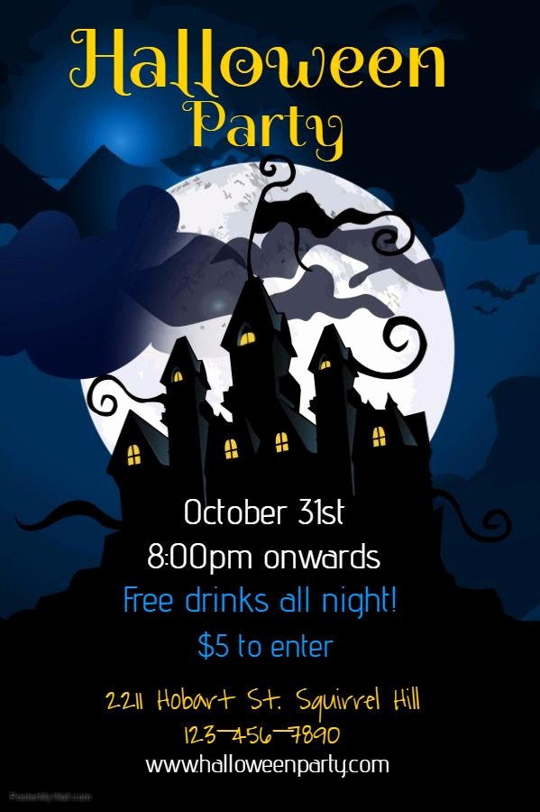 Free Halloween Party Flyer Templates Lovely 63 Best Halloween Party Flyer Templates Images On