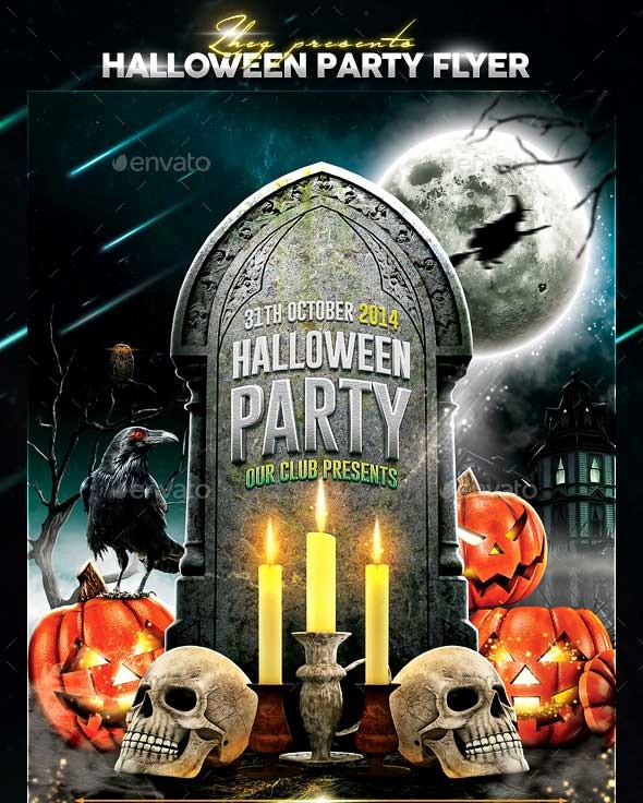 Free Halloween Party Flyer Templates Luxury 45 Best Halloween Psd Party Flyer Templates 2016