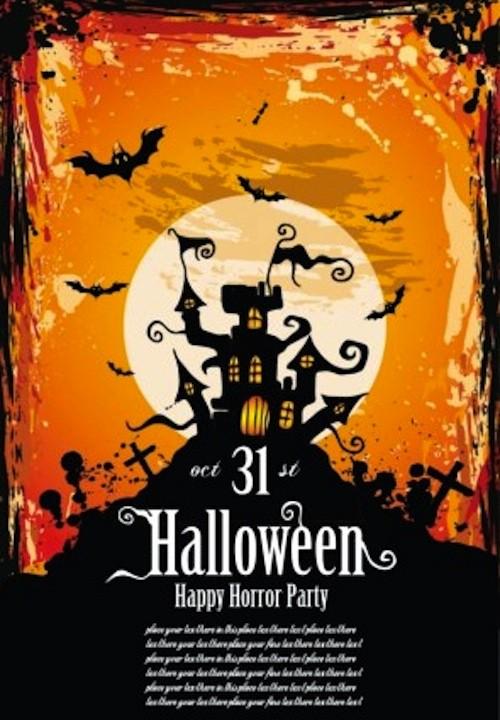 Free Halloween Party Flyer Templates Unique 12 Best Free Halloween Flyer Templates thedesignblitz