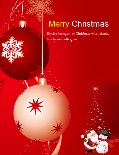 Free Holiday Flyer Templates Word Awesome Ms Word Colorful Christmas Flyer Templates