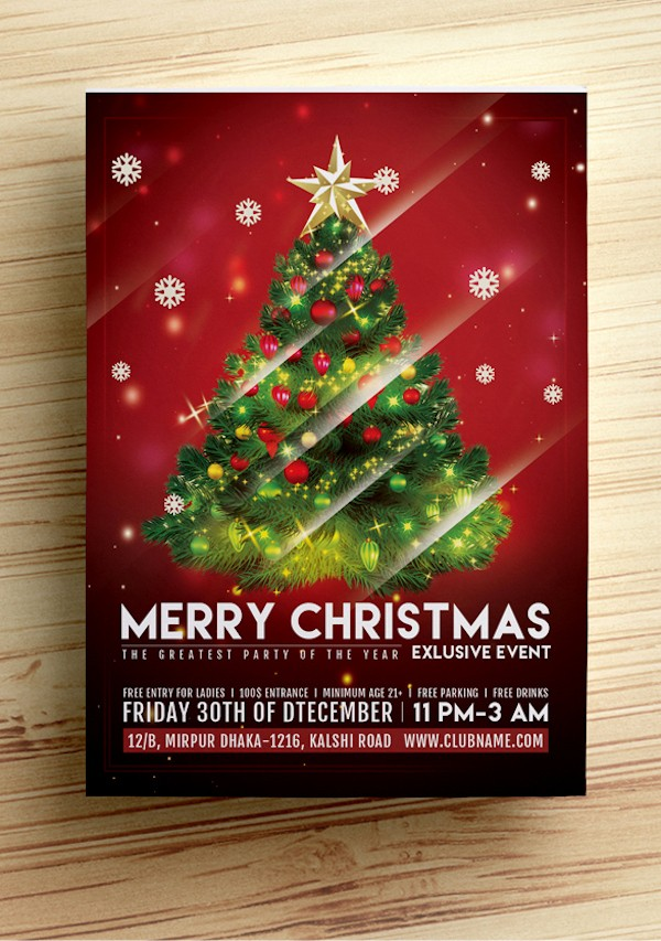 Free Holiday Flyer Templates Word Fresh Christmas Flyer Template Free Word Beautiful Template