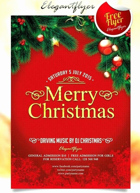 Free Holiday Flyer Templates Word New Holiday Flyer Template – Baycablingfo