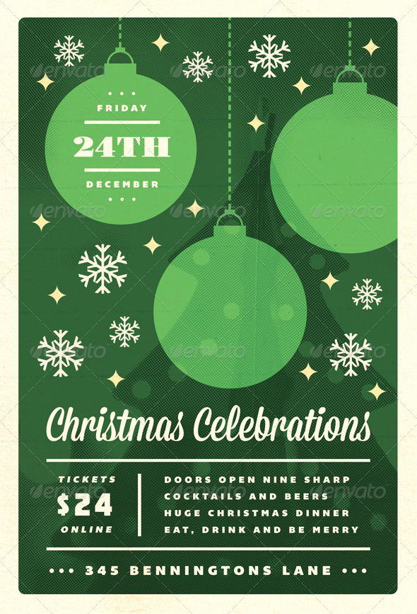 Free Holiday Flyer Templates Word Unique 18 Free Christmas Flyer Design Templates