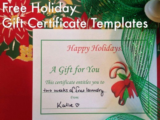 Free Holiday Gift Certificate Template Best Of Free Holiday Gift Certificates Templates to Print