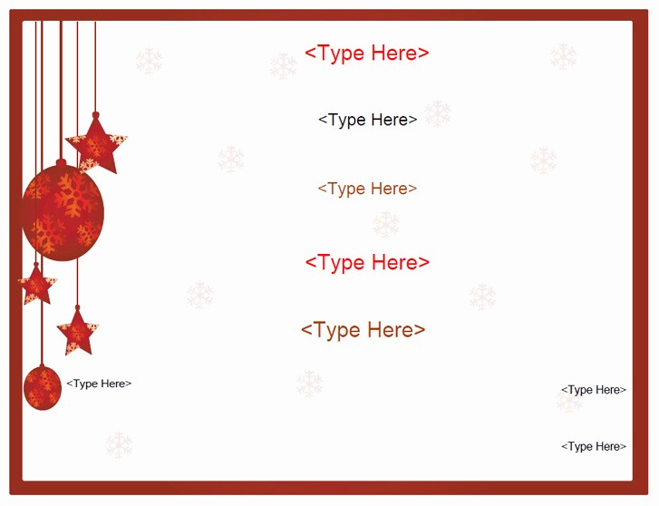 Free Holiday Gift Certificate Template Elegant Holiday Free T Certificate Template Word