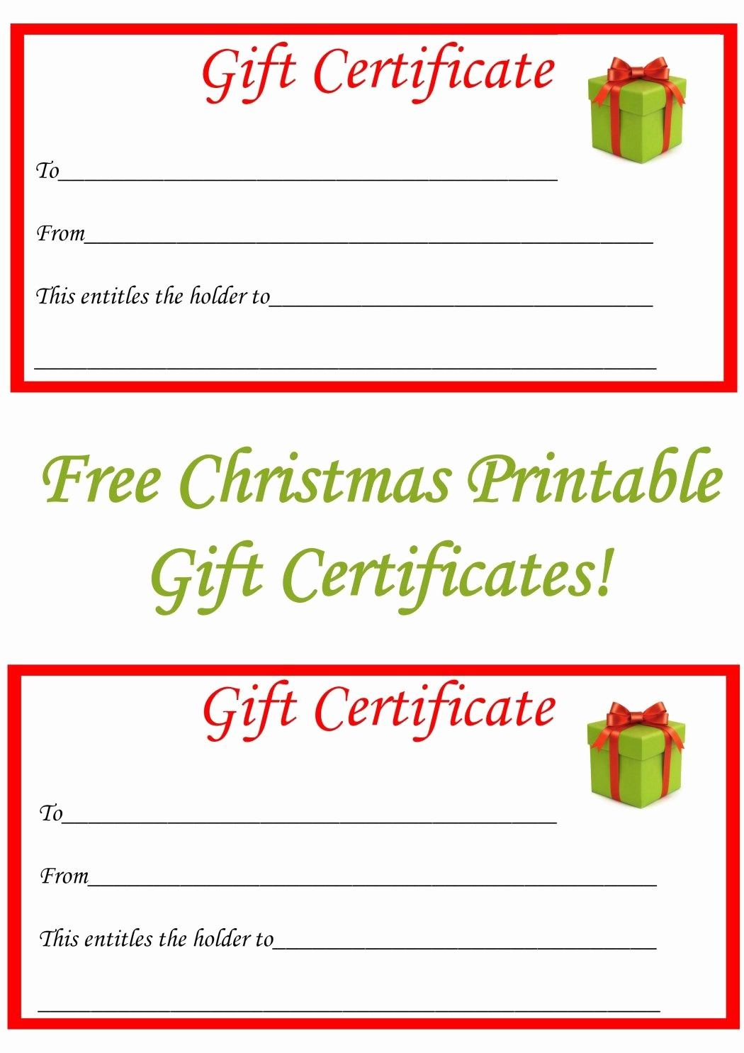 Free Holiday Gift Certificate Template Fresh Best 25 Printable T Certificates Ideas On Pinterest
