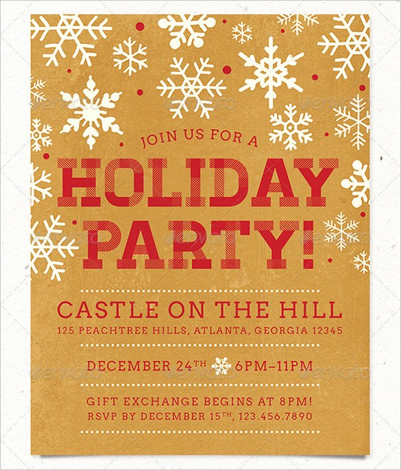Free Holiday Templates for Word Best Of 27 Holiday Party Flyer Templates Psd
