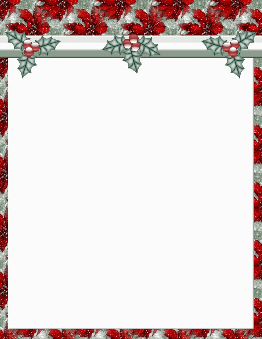 Free Holiday Templates for Word Elegant Christmas 2 Free Stationery Template Downloads