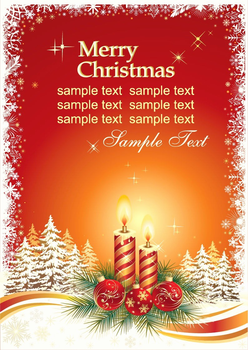 Free Holiday Templates for Word Elegant Christmas Card Templates Free Christmas Card Templates