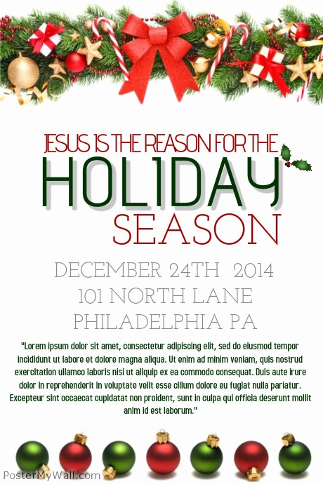 Free Holiday Templates for Word Elegant Holiday Flyer Template