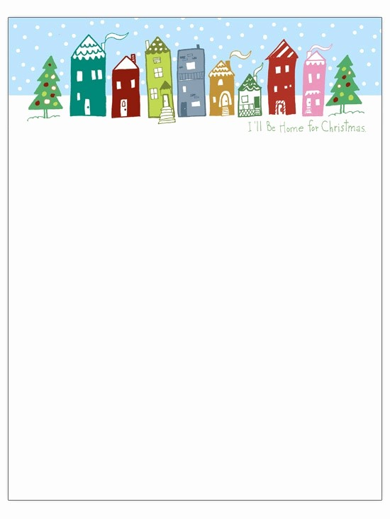 Free Holiday Templates for Word Elegant Microsoft Word Christmas Letter Template Letter Template