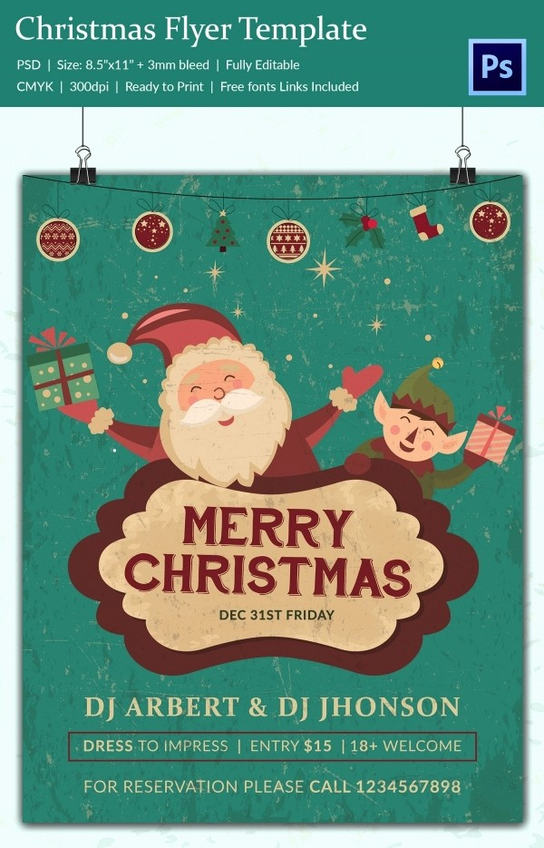 Free Holiday Templates for Word Lovely 30 Free Christmas Templates & Designs Psd Word