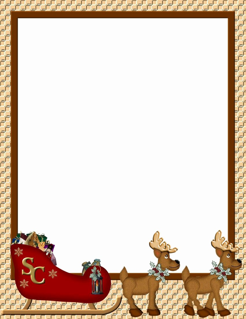 Free Holiday Templates for Word Luxury Christmas 1 Free Stationery Template Downloads